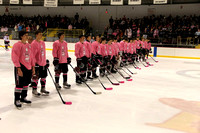 Prep Hockey: Pink the Rink 2013
